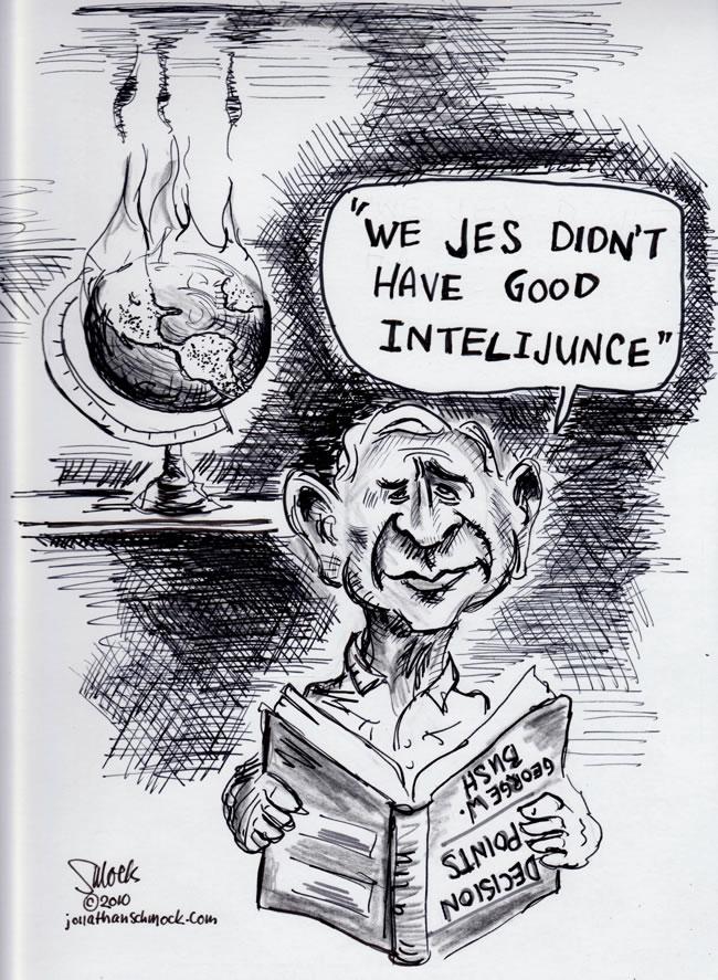 Bush Intelijunce