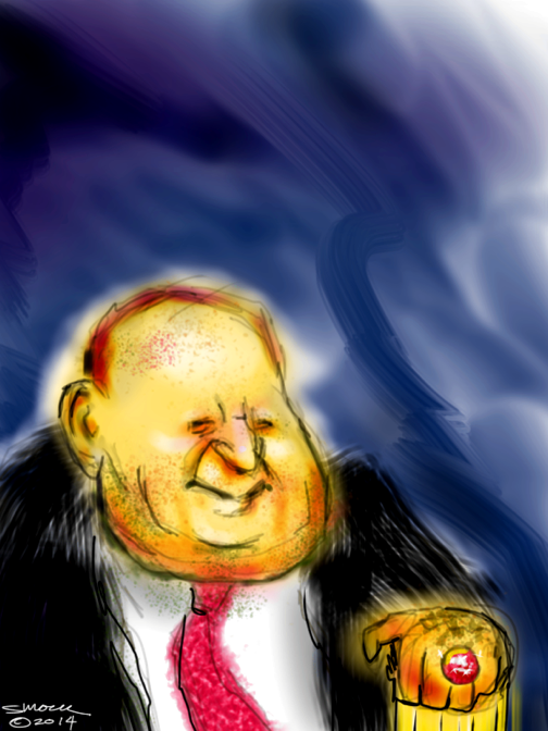 Sheldon Adelson- Kissing the Ring